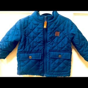 Timberland Baby Boy Quilted Jacket - 12 Months